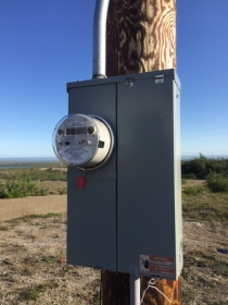 Power on site